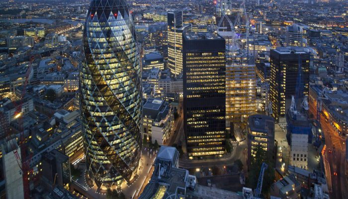 Investment in City of London Offices is up by 7.6 percent on Previous Year