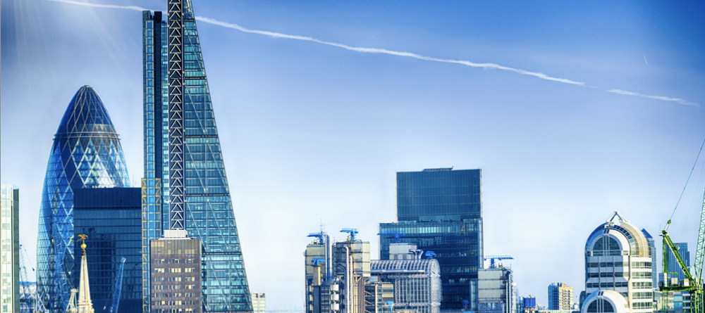 Commercial real estate companies towering over London